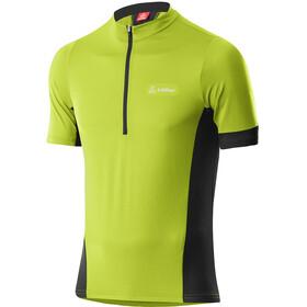 Löffler Pure Half-Zip Bike Jersey Men, groen